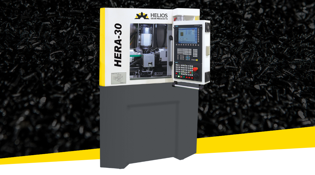 Helios Introduces Hera 30 CNC Gear Hobbing Machine
