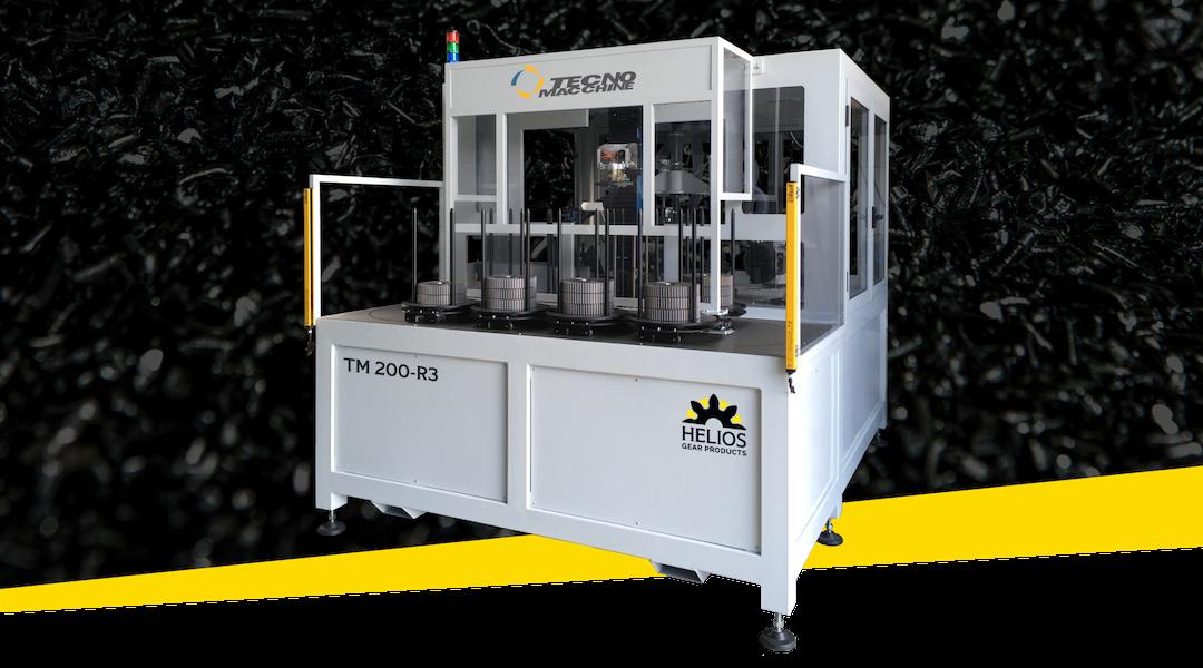 Helios TM 200-R3 CNC Gear Deburring Machine Upgrades