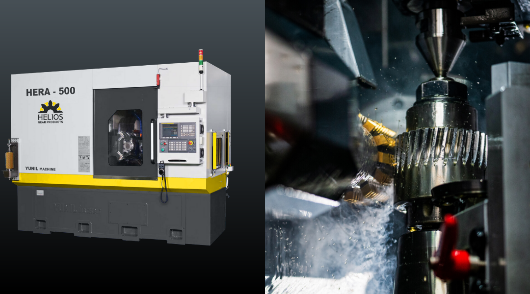 Helios Introduces Hera 500 CNC Gear Hobbing Machine