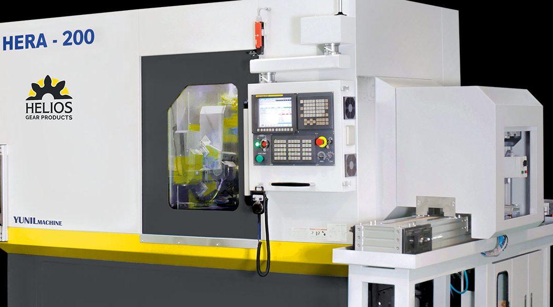 Helios Introduces Hera 200 CNC Gear Hobbing Machine