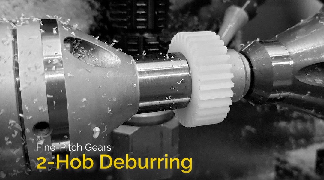 Two-hob Gear Deburring